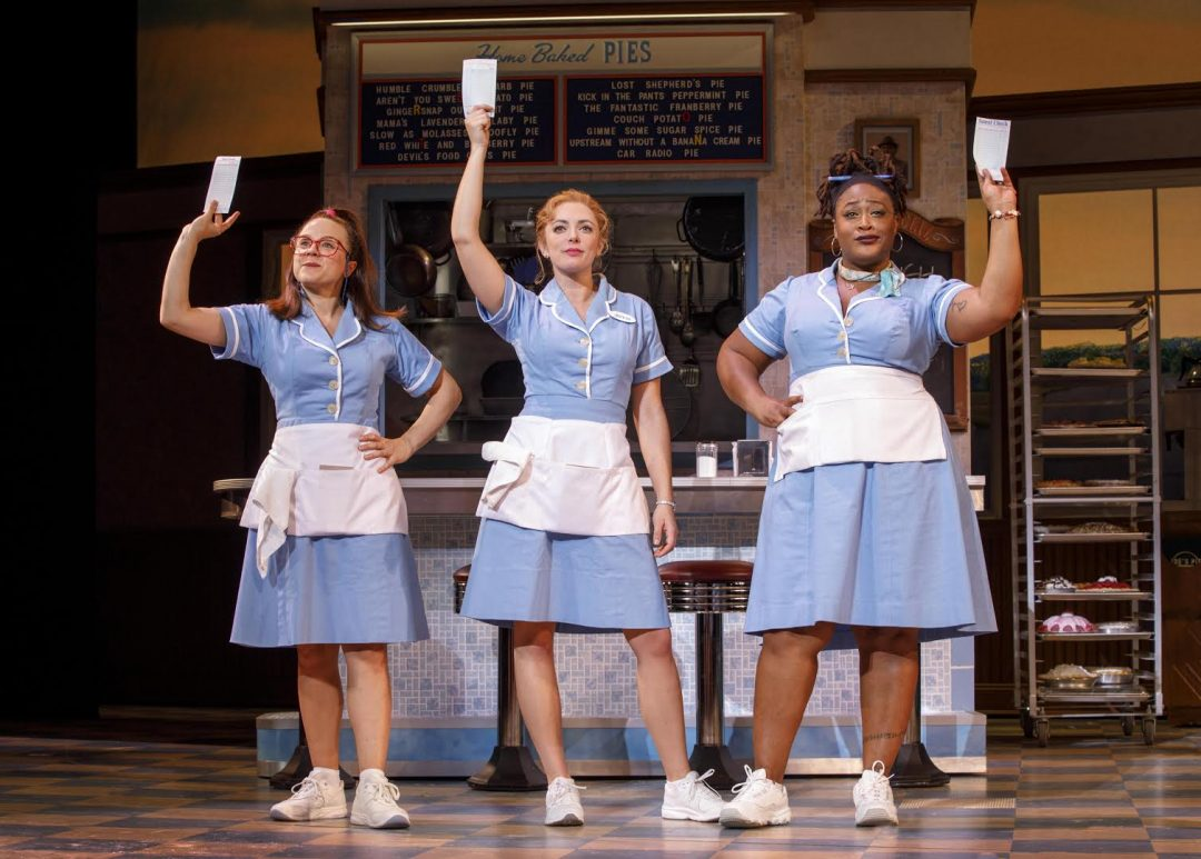Desi Oakley in Waitress the Musical